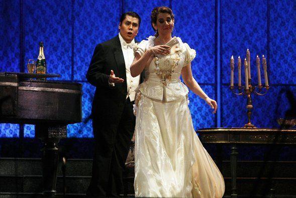 Teneste la promessa.. E tardi… Addio del passato – La Traviata – Verdi – Parque Araucano – Santiago de Chile