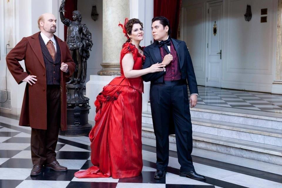 Duo Violetta y Germont – La Traviata – Verdi – Parque Araucano – Santiago de Chile